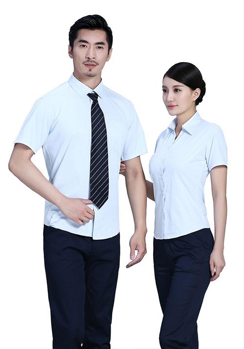 衬衫长袖女性职业装定制
