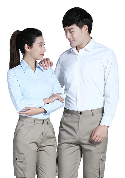 专业职业装女士衬衫长袖定