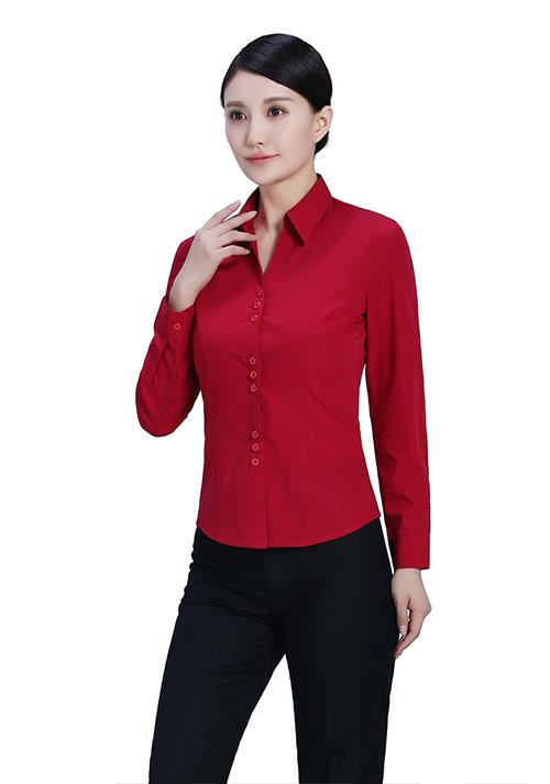 枣红衬衫定制