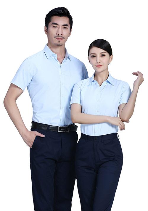 短袖职业衬衫