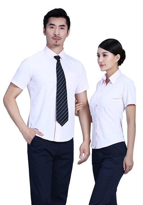 淡粉色职业衬衫