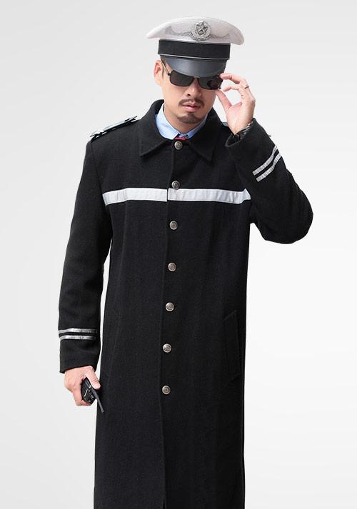 安保保暖大衣定做
